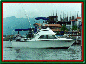 Puerto Vallarta Mexico Fishing Vacation - Details for Madonna Fishing charter